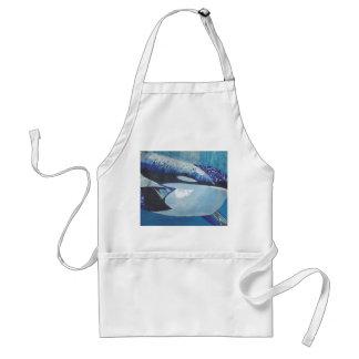 Killer Whales Adult Apron