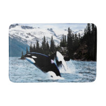 Killer Whales Bathroom Mat