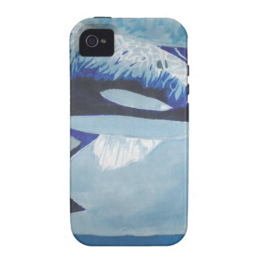 Killer Whales Case-Mate iPhone 4 Case