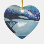 Killer Whales Christmas Tree Ornament