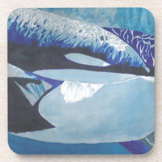Killer Whales Drink Coaster