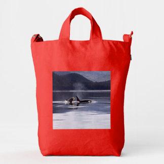 Killer Whales Duck Bag