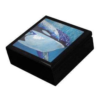 Killer Whales Jewelry Box