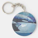 Killer Whales Key Chain