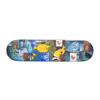 Killer Whales, Manta Ray, Fish, Fish, Dolphins,... Custom Skateboard