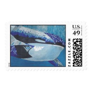 Killer Whales Postage