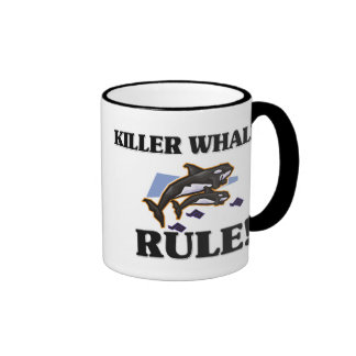 KILLER WHALES Rule! Mugs