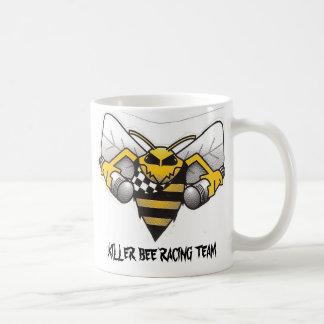 killerbee_logo, KILLER BEE RACING TEAM Classic White Coffee Mug