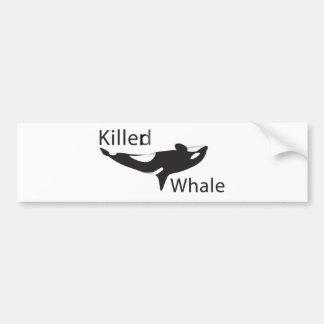 Killerd Whale Bumper Sticker