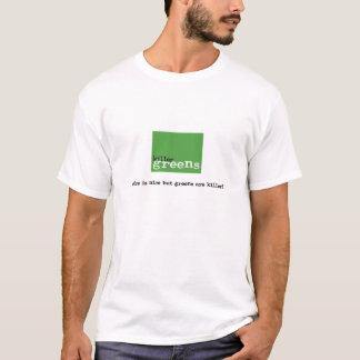 killergreens-logo (light) T-Shirt