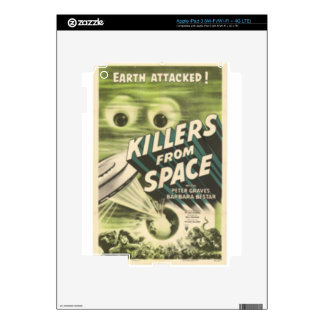 Killers from Space Decals For iPad 3