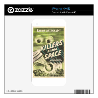 Killers from Space Skins For The iPhone 4
