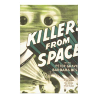 Killers from Space Stationery