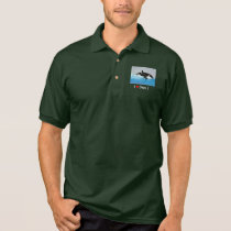 Killerwhale and Orcinus orca Polo Shirt