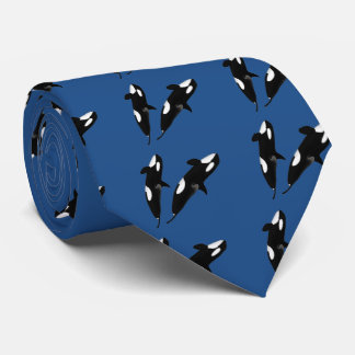 Killerwhale and Orcinus orca Tie