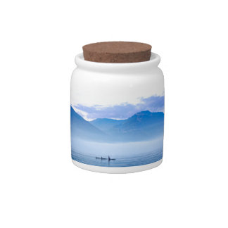 killerwhale of Vancouver Island Candy Jars