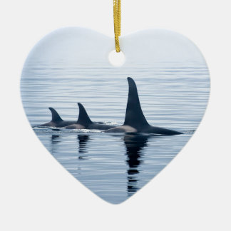 Killerwhale of Vancouver Island Christmas Tree Ornament