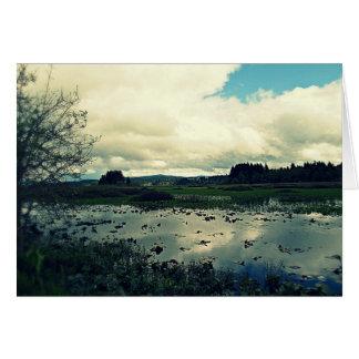 Killin Wetlands Reflection Card