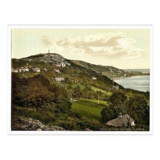 Killiney and Dalkey. Co. Dublin, Ireland magnifice Postcard