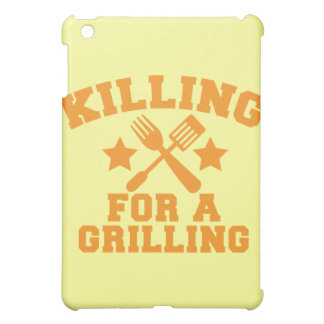 KILLING FOR A GRILLING BBQ design Case For The iPad Mini