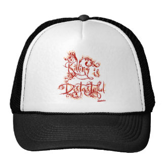 Killing is Distasteful Trucker Hat