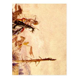 Killing of John M. Bozeman', Olaf_Art of America Postcard