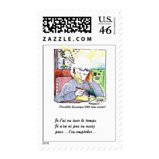 killing the Time Postage Stamps