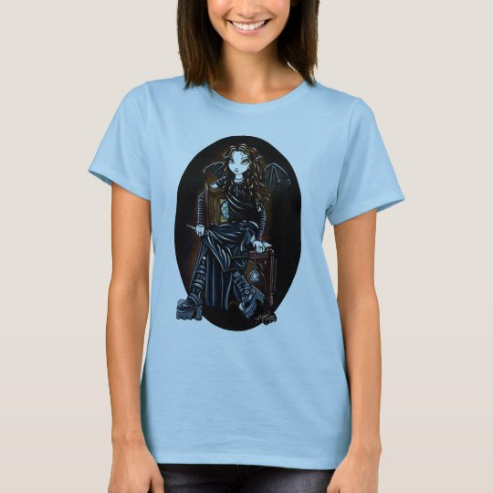 Killing Time Dark Faerie Black Babydoll Tee