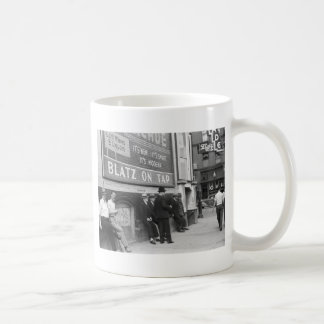 Killing Time in Butte, 1939 Coffee Mug