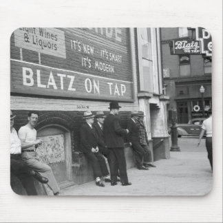 Killing Time in Butte, 1939 Mouse Pad