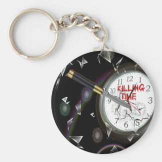 Killing Time Keychain