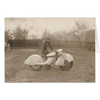 KILLINGER & FREUND MOTORCYCLE. CARD
