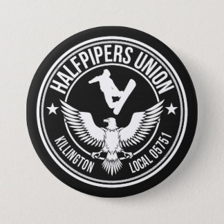 Killington Halfpipers Union Button