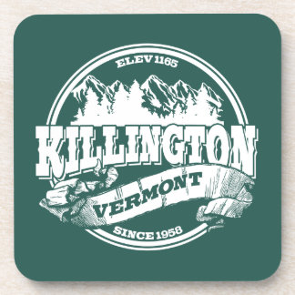 Killington Old Circle White Beverage Coaster