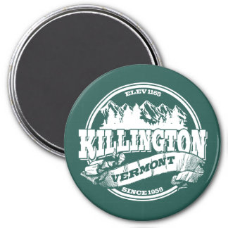 Killington Old Circle White Magnet