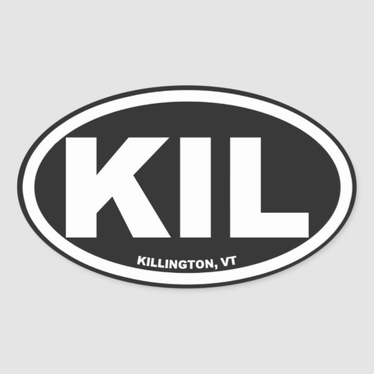 Killington Logo Stickers