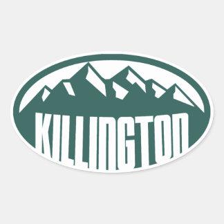 Killington Vermont Pegatina Ovalada