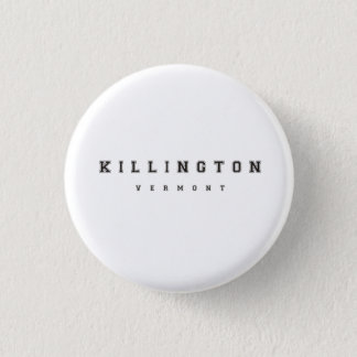 Killington Vermont Pinback Button