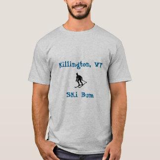 Killington, VT, Ski Bum T-Shirt