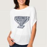 Killjoy de la feminista del vintage playera