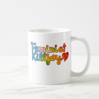 Killjoy feminista taza de café