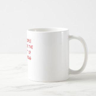 killjoy classic white coffee mug