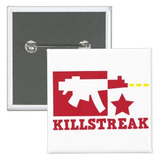 KILLSTREAK machine gun Pinback Button