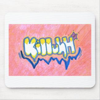 Killuh rosado (MousePad) Tapete De Ratón