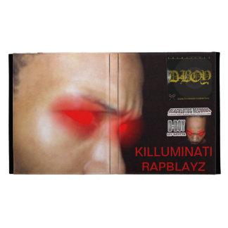 KILLUMINATI RAPBLAYZ COVER iPad FOLIO COVER