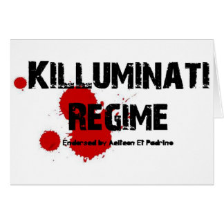 KILLUMINATI REGIME GEAR CARD