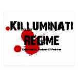 KILLUMINATI REGIME GEAR POST CARD