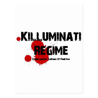 KILLUMINATI REGIME GEAR POSTCARD