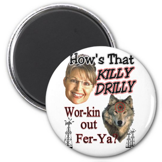 Killy Drilly Magnet
