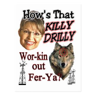 Killy Drilly Postcard